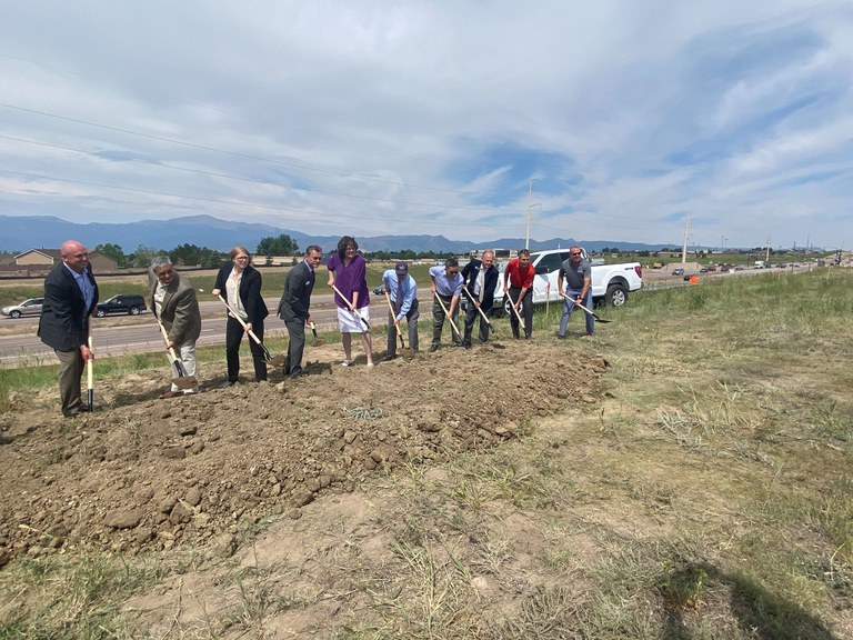 CO 21 and Research Pkwy. Groundbreaking