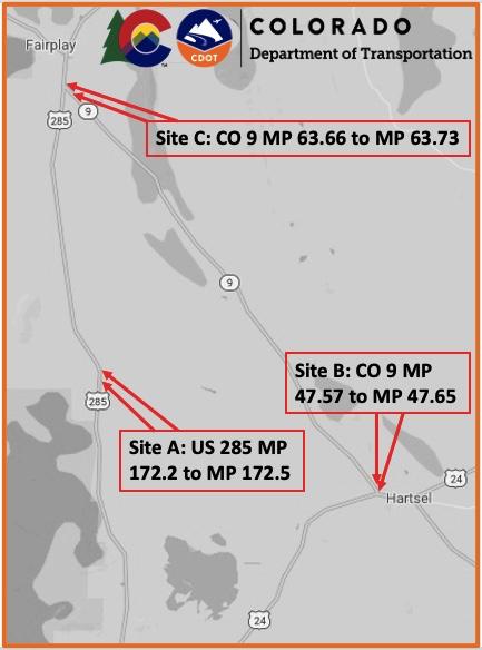 Bridge Replacement Map