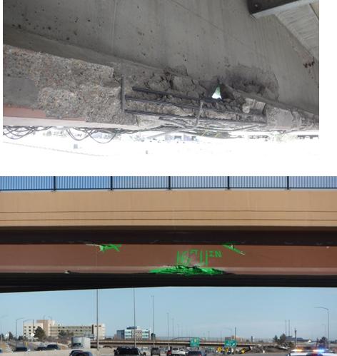 Skyridge Bridge Damage