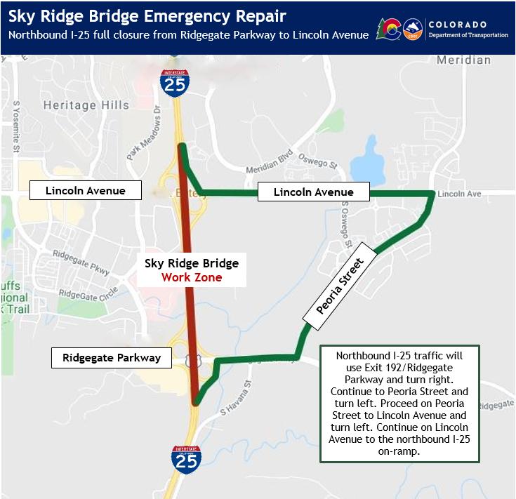 Skyridge Bridge Map