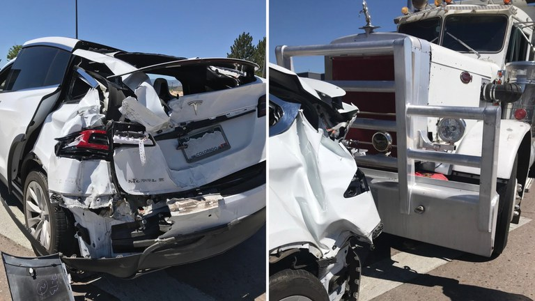 A Denver mother and her two kids were rear-ended in July 2020 by a dump truck going 35 mph. The kids were properly restrained and uninjured.