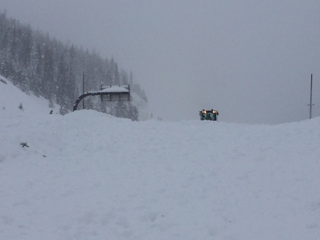 Avalanche mitigation near EJMT