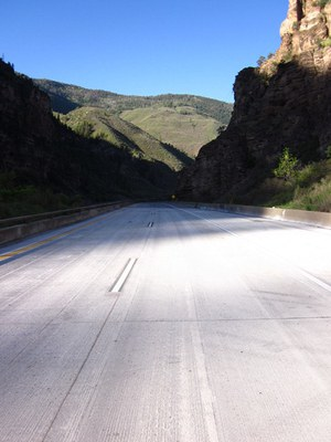 I-70 Glenwood Canyon Concrete