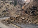 US 6 Clear Creek Canyon Rockslide April 2016