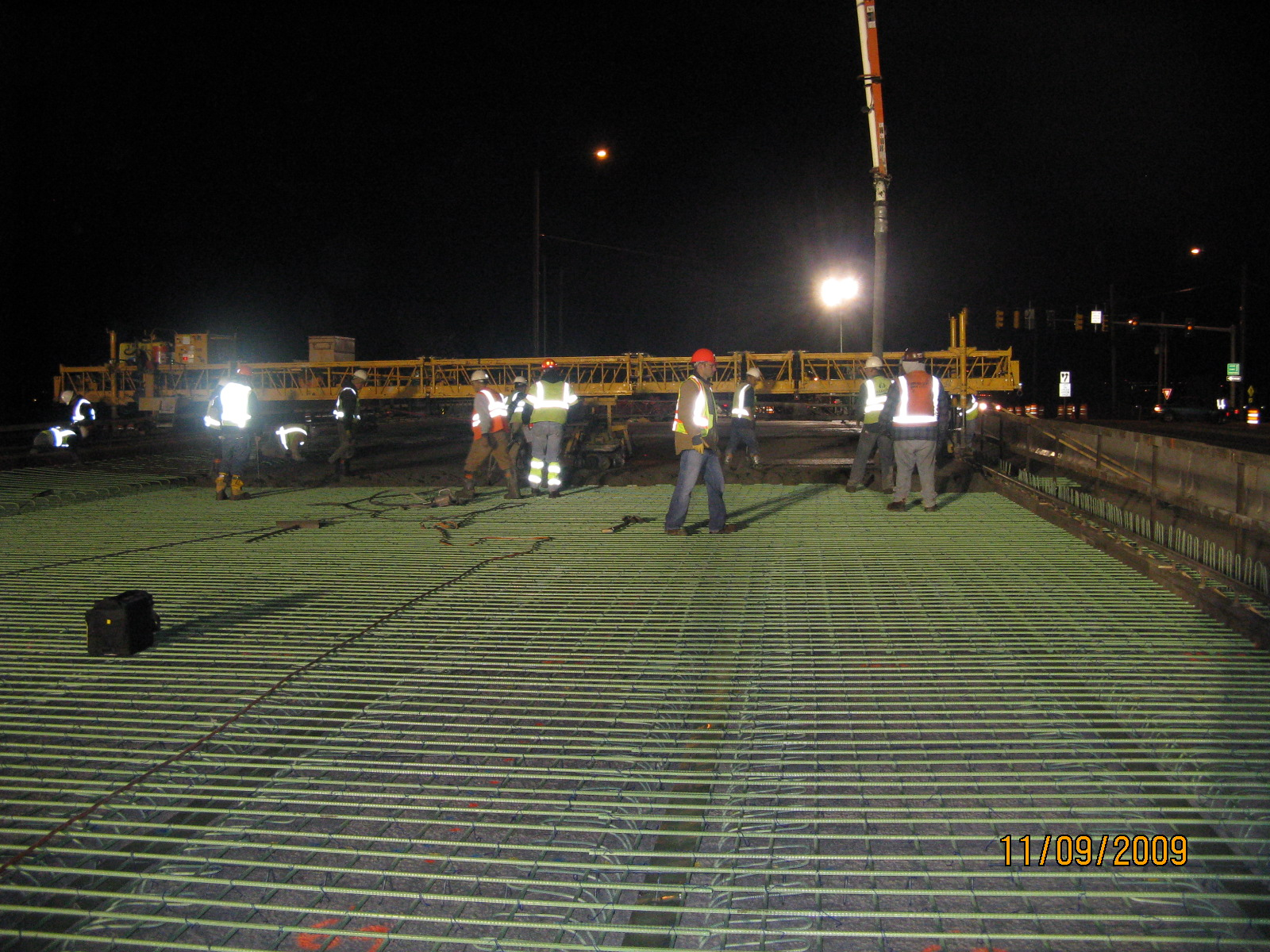 Bridge Deck Work