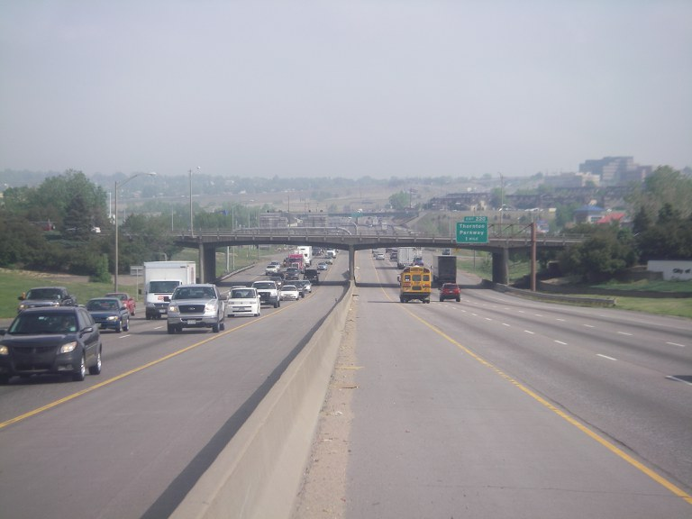84th over I-25