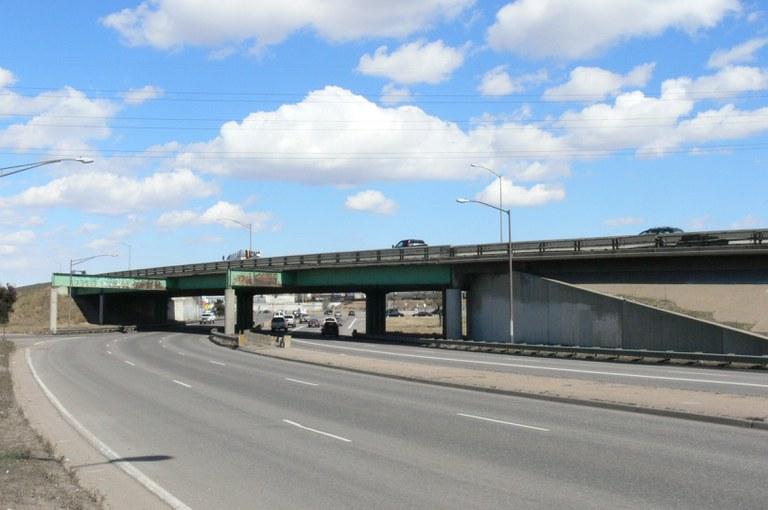 I-25 Northbound over 85-Santa Fe