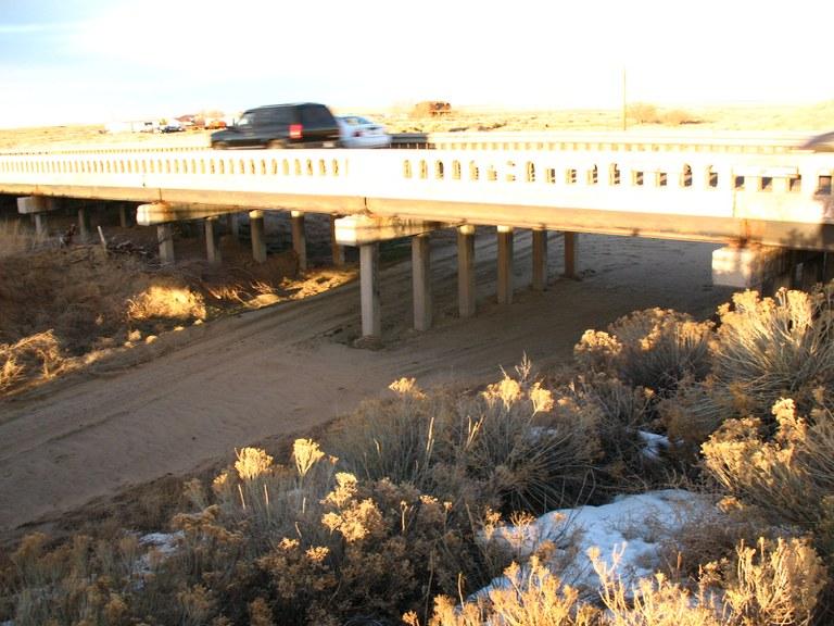 I-25 Northbound over Missouri Creek