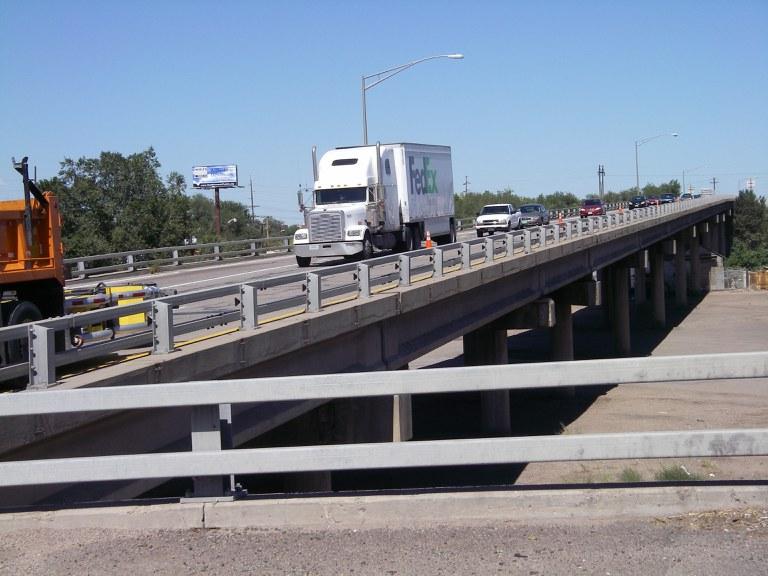 I-25 Southbound over NP Railroa, IIex Street, and Bennet Street
