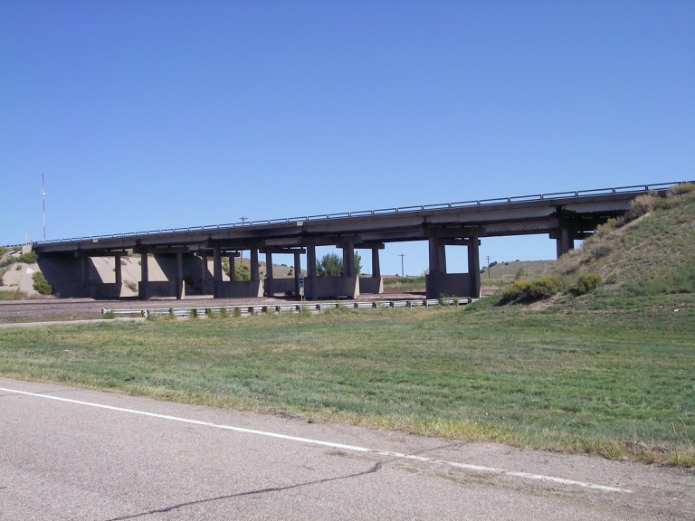 I-25 Southbound over US 160 and Railroad Spur
