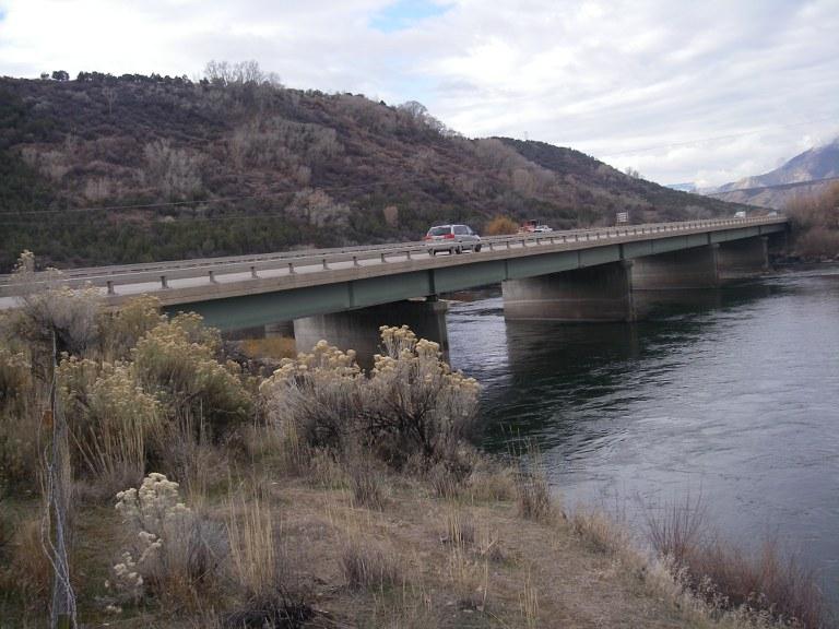 I-70 Westbound over Colorado River Overflow