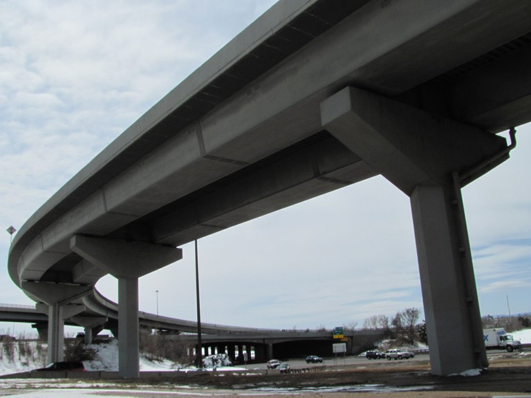 Ramp to I-25 Northbound over US 6