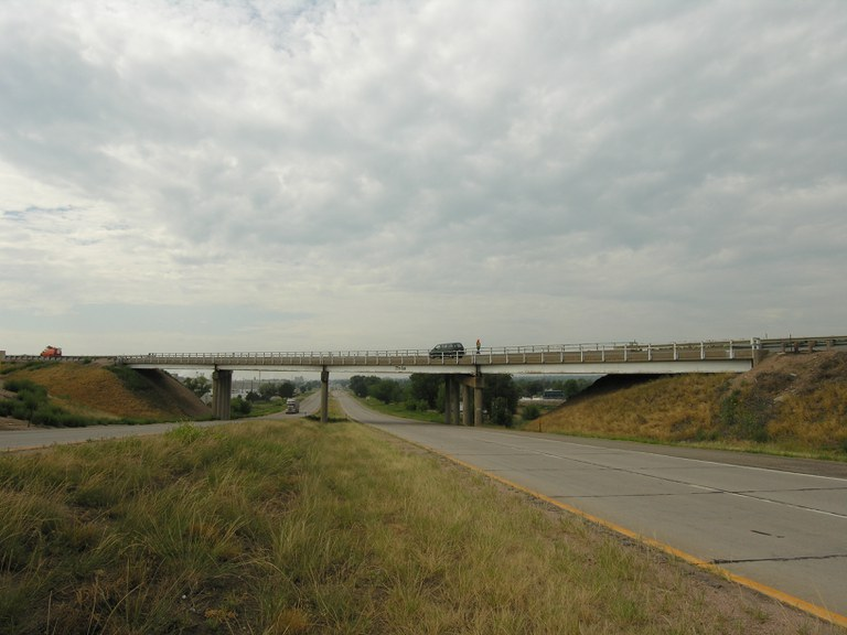 Southbound US 85 Bypass over US 85 Business Route