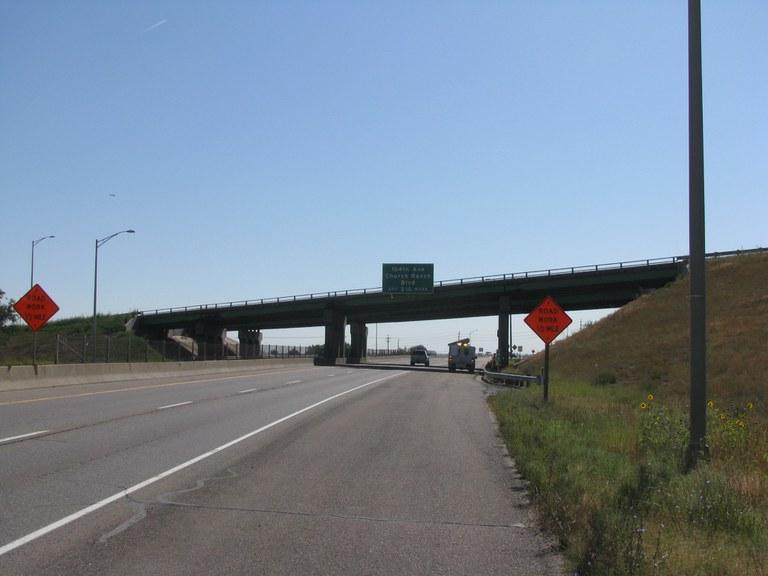 SH 121 - Interlocken Loop over US 36
