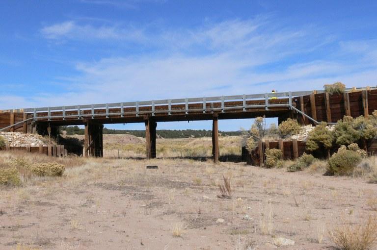 SH 69 over Milligen Arroyo