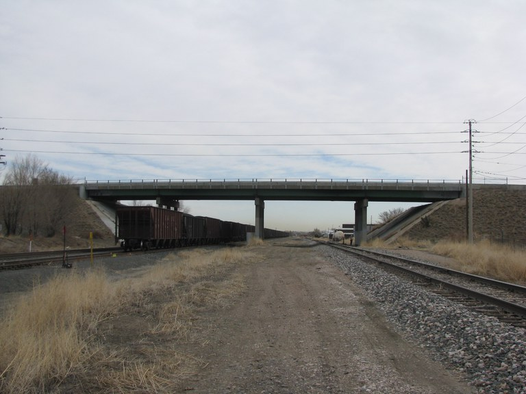 SH 95 Sheridan over Union Pacific Railroad, Railroad Spur