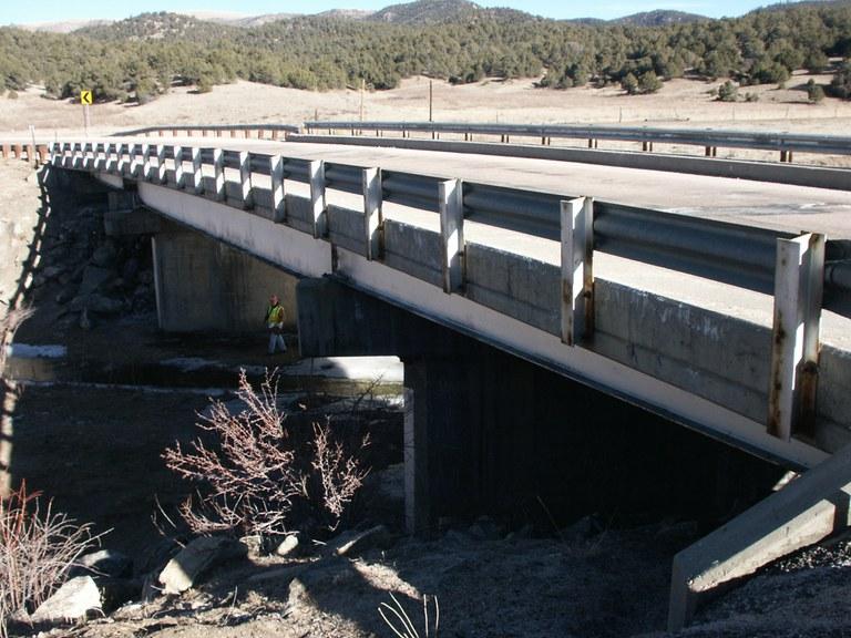 SH 9 over Currant Creek