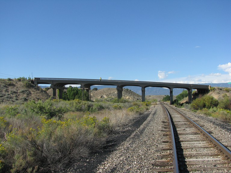 SH 120 over Draw and Union Pacific Railroad