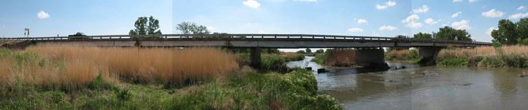 SH 89 over Arkansas River. South of Holly