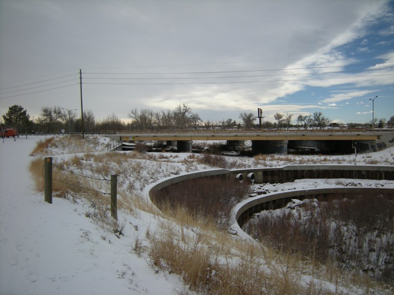 US 40 - Colfax Westbound over Sand Creek