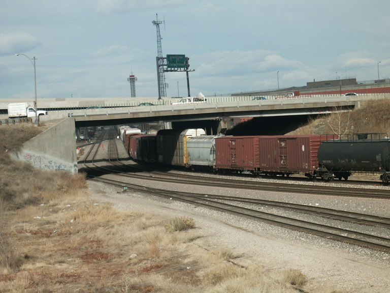 US 6 over BNSF Railroad