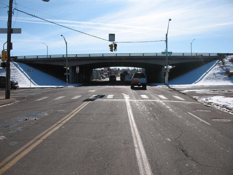US 6 over Bryant Street