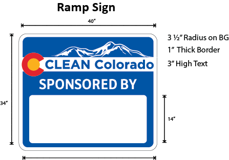 Clean Colorado Sign