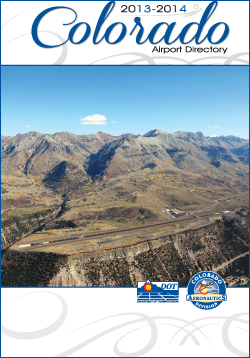Colorado Airport Directory Cover Image