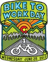 Bike to Work Day Artwork