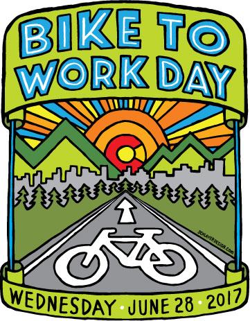 Bike to Work Day Artwork detail image