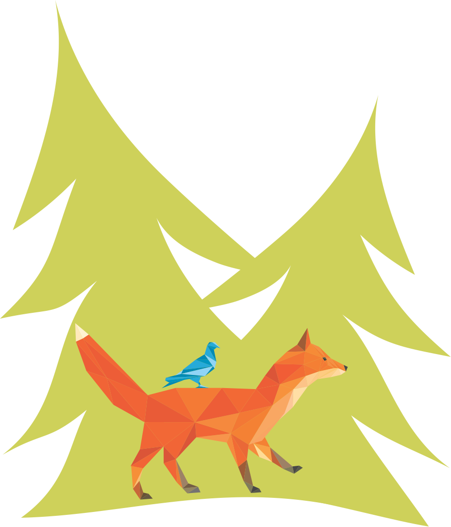 Fox in Trees