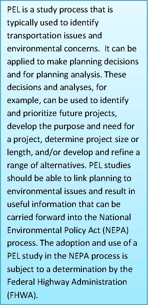 Planning And Environmental Linkages