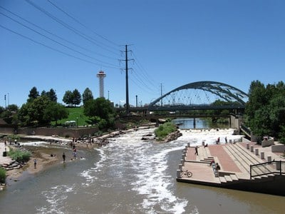 Confluence Park, photo credit: McLaughlin Whitewater Design Group