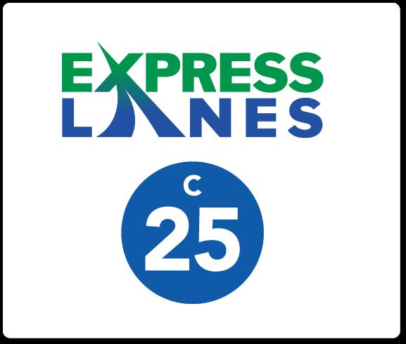 Central I-25 Express Lanes