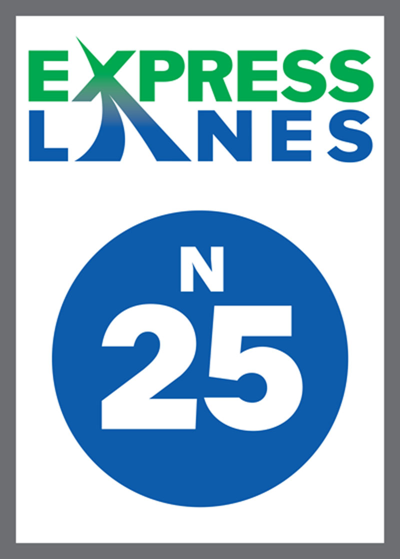 North I-25 Express Lanes