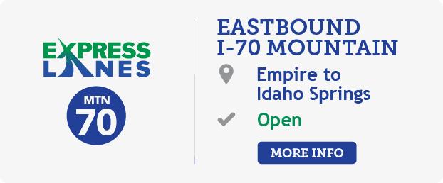 I-70 from Empire to Idaho Springs