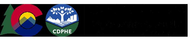 Colorado Department of Public Health and the Environment logo