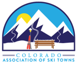 Colorado Association of Ski Towns logo