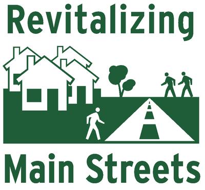Revitalizing Main Streets logo