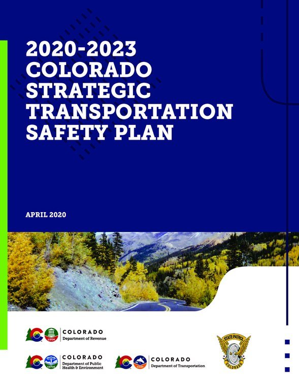 2020-2023 COLORADO STRATEGIC TRANSPORTATION SAFETY PLAN