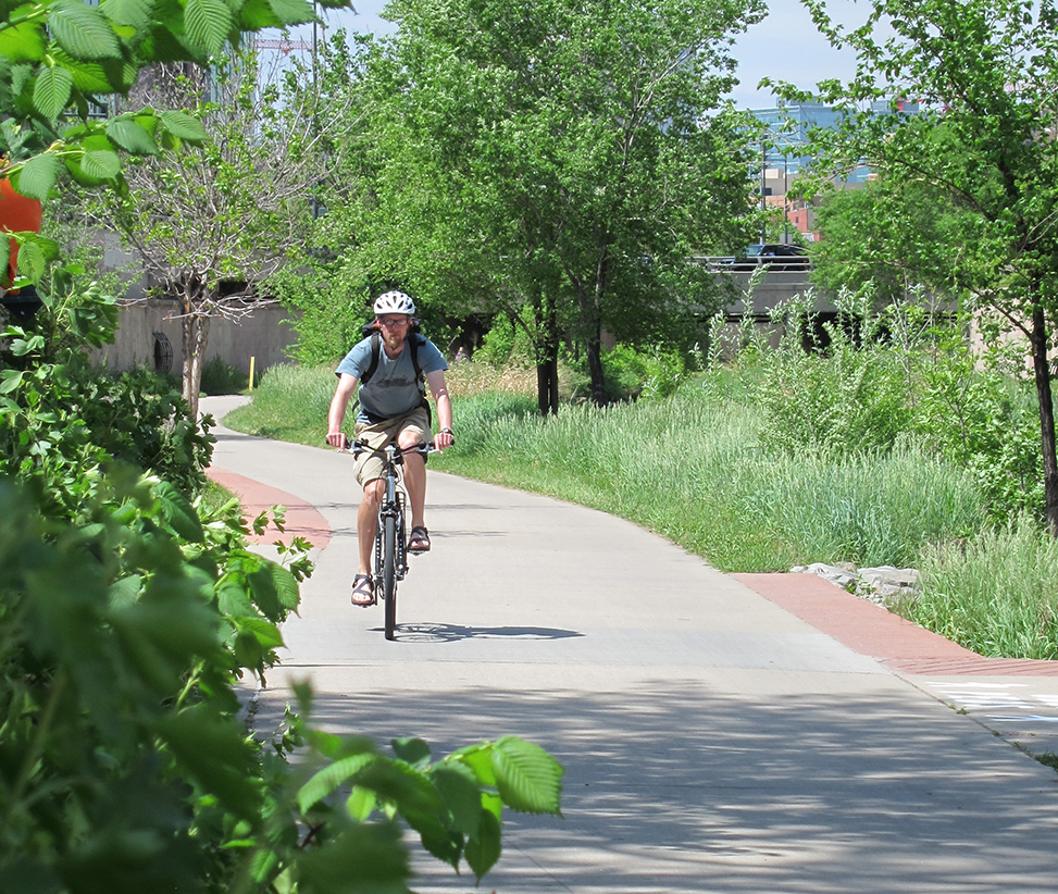 Rider with green foreground cherry creek 2013