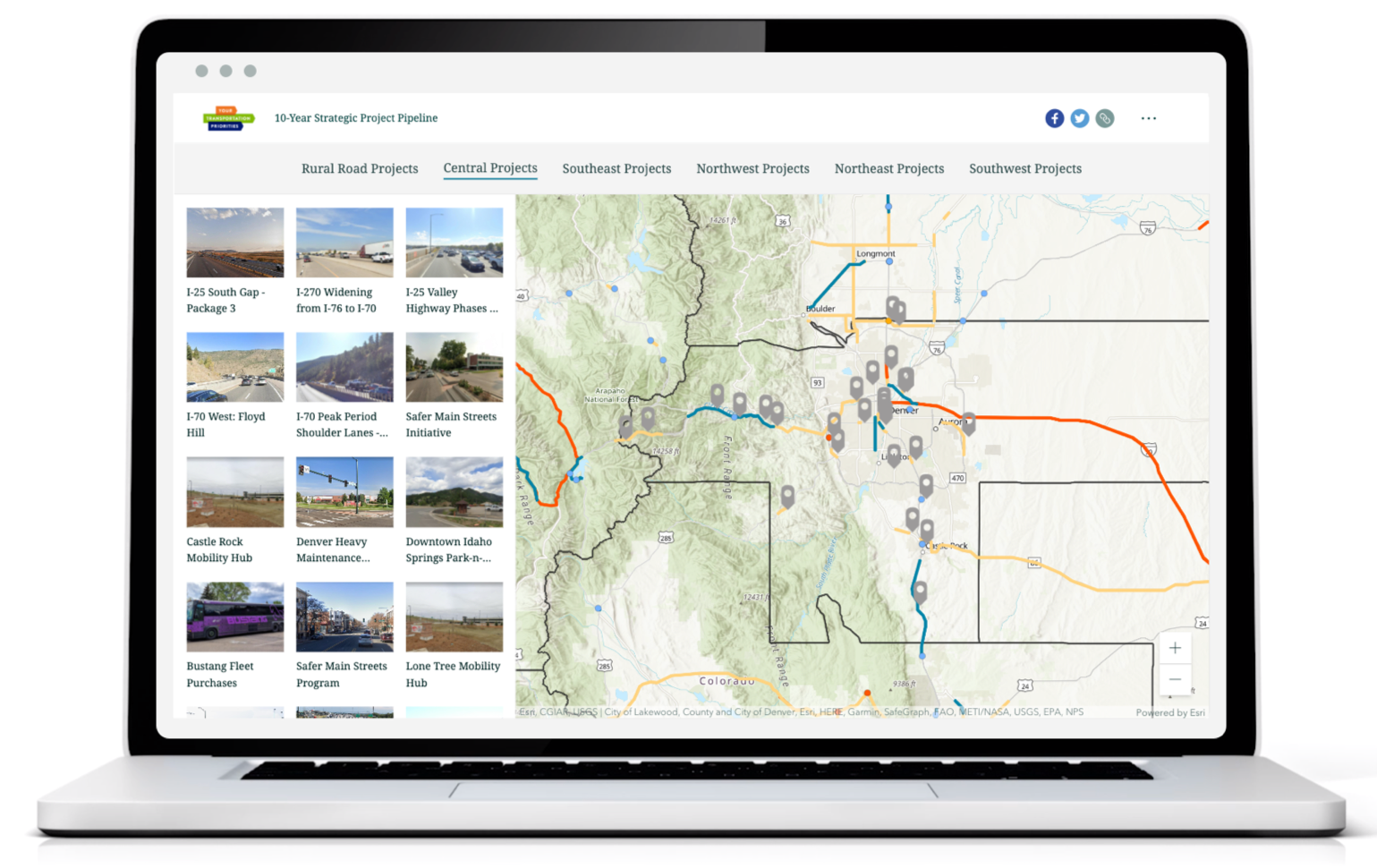 Your Transportation Priorities Story Map