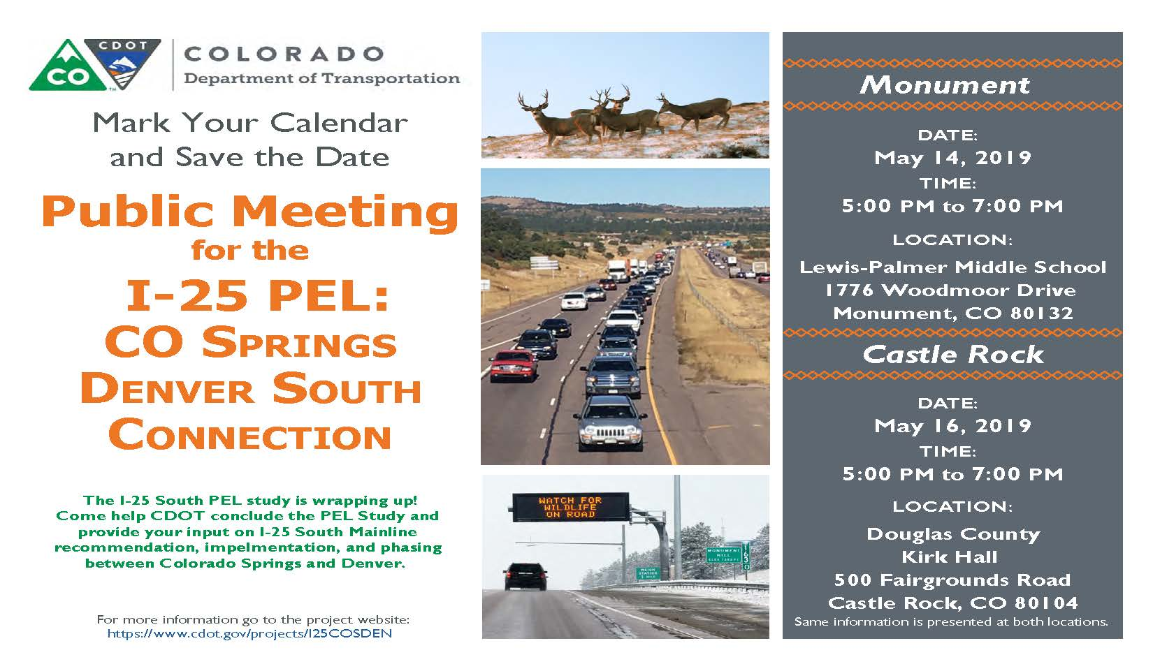 May 2019 Public Meeting Flier