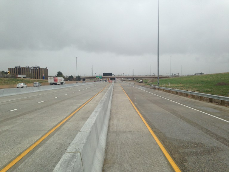 completed i 25 express lanes