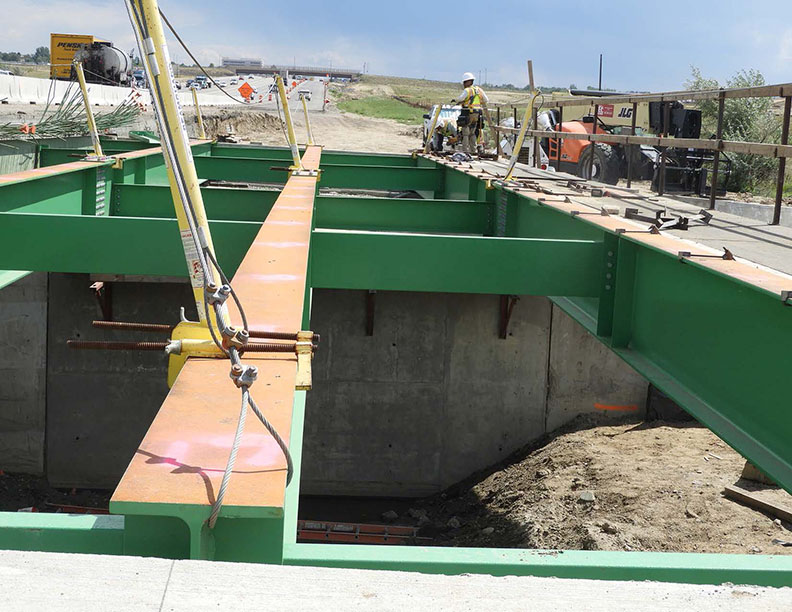 Bridge over Big Dry Creek, west side of southbound I-25 between 136th and 128th avenues