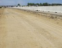 Milling and Paving west of the southbound I-25 barrier thumbnail image