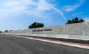 Completion of wall south of 120th Avenue thumbnail image