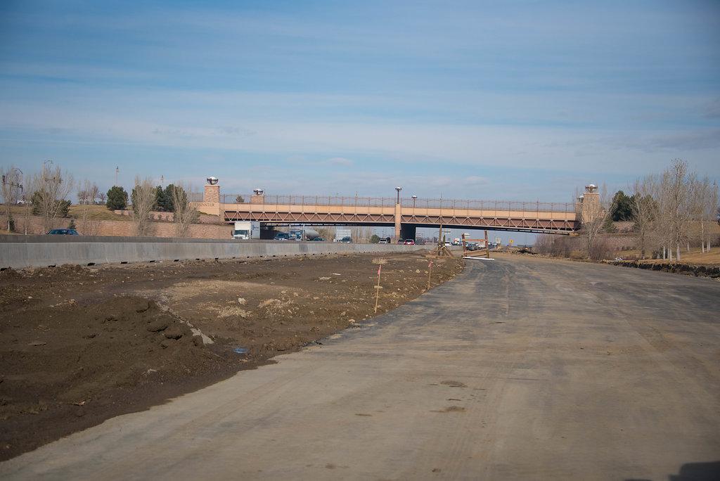 Progress on North I-25 from 120th - E-470: January 2017