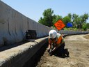 Setting redtops for top of R20 subgrade verification thumbnail image