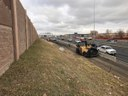 Paving along southbound I-25 between 120th Avenue and Community Center Drive looking north thumbnail image